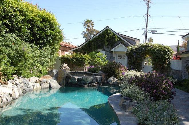 Beach Style Pool by Dana Nichols
