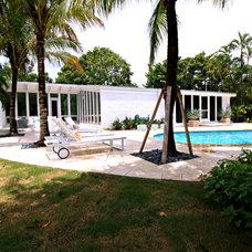 Beach Style Pool by Mina Brinkey