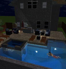 modern pool My pool Design