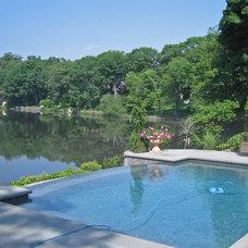 Mediterranean Pool by Leonard Design Associates