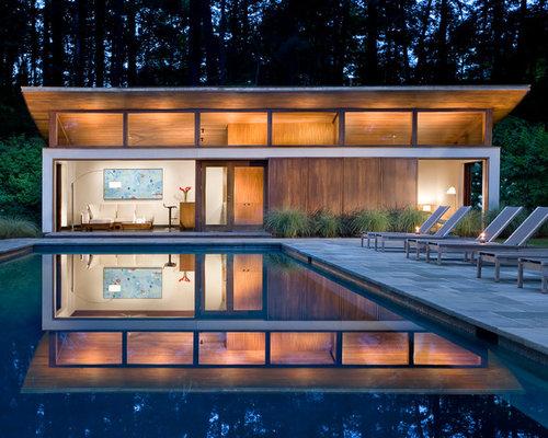 Modern Pool House modern pool house ideas & design photos | houzz