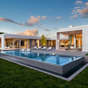 Napa Valley, California, United States Modern Vineyard Estate