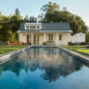 Pool - farmhouse pool idea in San Francisco