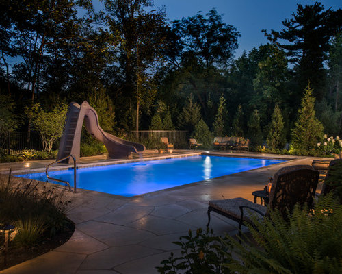 & Naperville IL Swimming Pool with Water Slide