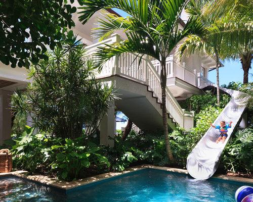 piscine exotique de luxe photos et id es d co de piscines. Black Bedroom Furniture Sets. Home Design Ideas