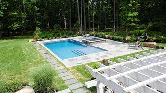 Natural Bluestone Rectangular Pool