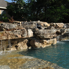 Contemporary Pool by Artesian Custom Pools, INC