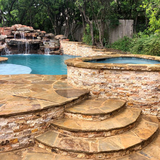 Natural Pool and Spa in New Braunfels