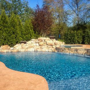 Natural Stonework Pool