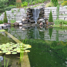 Contemporary Pool by Genus Loci Ecological Landscapes Inc.