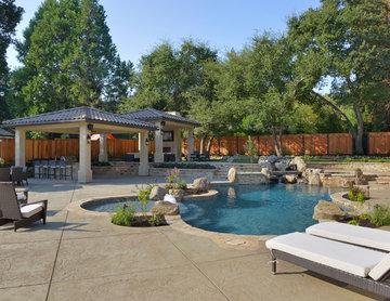 Natural Swimming Pool in Alamo, Ca