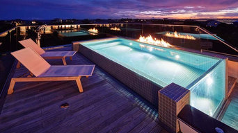 Nautical Themed Rooftop Pool