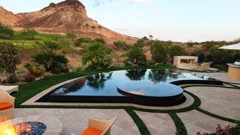 Negative Edge & Perimeter Overflow Pools in Las Vegas, Poolscapes LLC