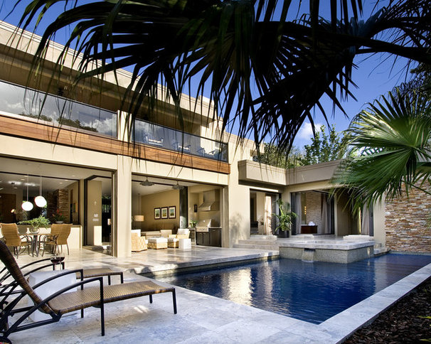 Contemporary Pool by Storch Entertainment Systems