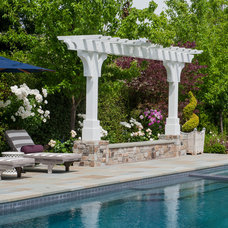 Eclectic Pool by David Thorne Landscape Architect