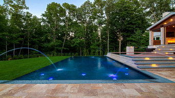 NESPA & APSP Award Winner: Infinity Edge pool and outdoor living space