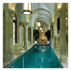 Traditional Pool by Rhodes Architectural Stone