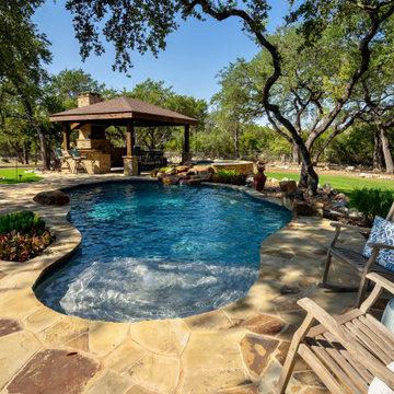 New Braunfels Pool and Cabana