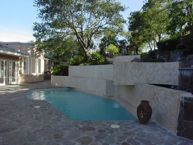 Contemporary Pool by Ashford Associates