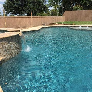 New Gunite Swimming Pool
