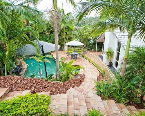 Brisbane Kidney Shaped Pool Design Ideas Renovations Photos