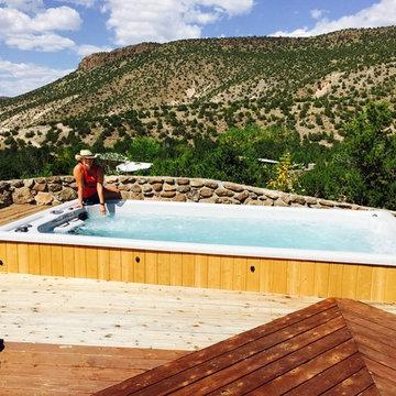 New Mexico Swim Spa