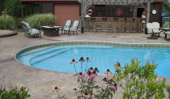 New pool and landscape construction