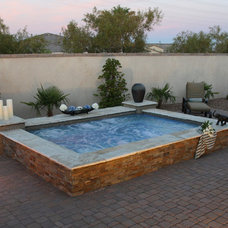 Traditional Pool by Paragon Pools