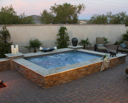 3 spool las vegas swimming pool design photos