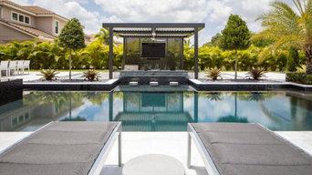 New Pool in Parkland Designed by Kevin Van Kirk!