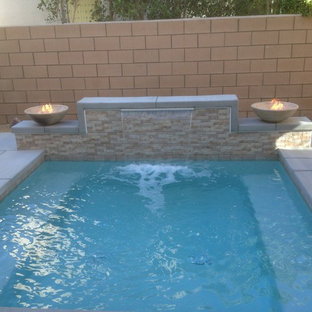 Moderner Pool in Los Angeles