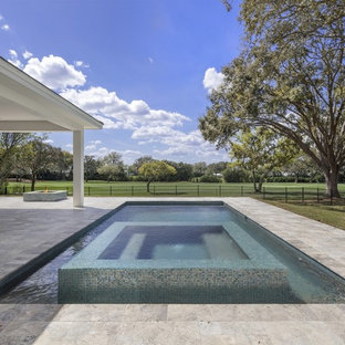 New Transitional Custom Home Overlooking the First Green in Bay Hill