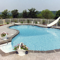 Tropical Pool by Gorlin Pools and Spas