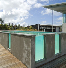 contemporary pool by Hamlet Projects