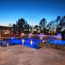 Contemporary Pool by Urban Landscape