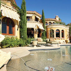 Mediterranean Pool by OliveTree Construction