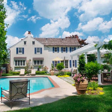 Traditional Pool by Groundswell Design Group, LLC