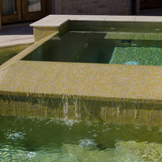 Mediterranean Pool by Christopher Lee & Company Fine Homes