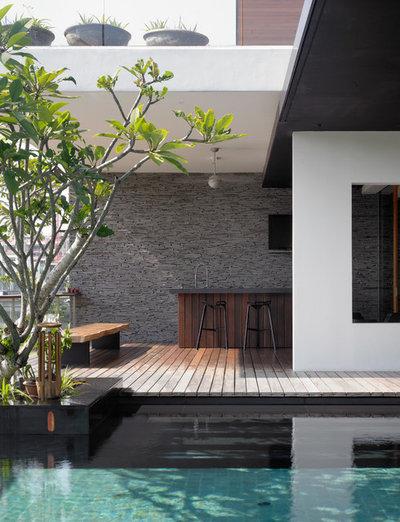d corer sa piscine pour un coin baignade chic cet t. Black Bedroom Furniture Sets. Home Design Ideas