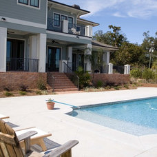 Traditional Pool by Sprague Construction