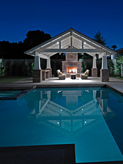 Arts And Crafts Pool Design Ideas Renovations Photos