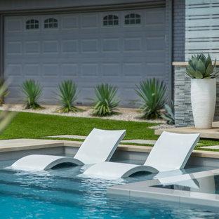North Dallas Modern Backyard