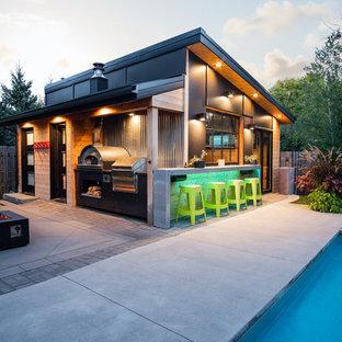 Новые идеи обустройства дома: бассейн в современном стиле