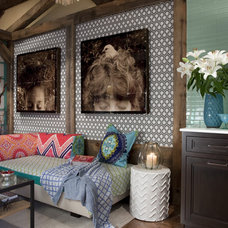 Eclectic Pool by K.Marshall Design Inc.