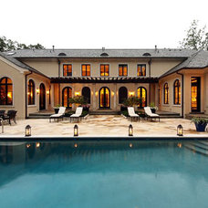 Traditional Pool by Arrow. Land + Structures