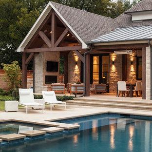Diseño de piscina contemporánea a medida