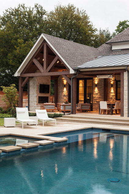 Contemporary Pool by Stocker Hoesterey Montenegro