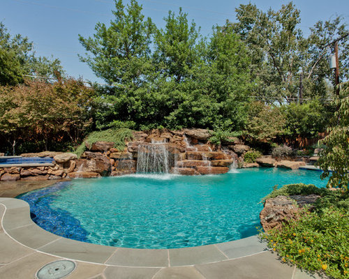 Best Pool Waterfall Design Ideas & Remodel Pictures | Houzz