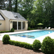 Traditional Pool by Duke Development