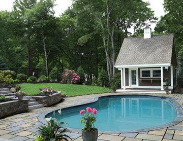 Norwell Pool, House & Patio